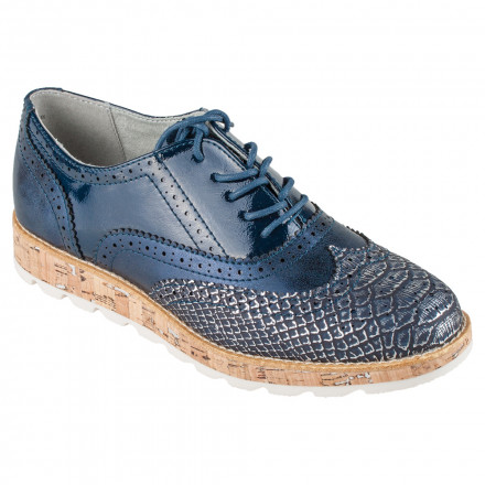 Туфли женские s.Oliver 5/5-23616/28 891 NAVY COMB.