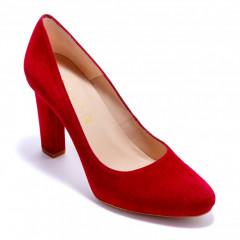 Туфли женские Unisa PATRIC_18_KS GARNET KID SUEDE