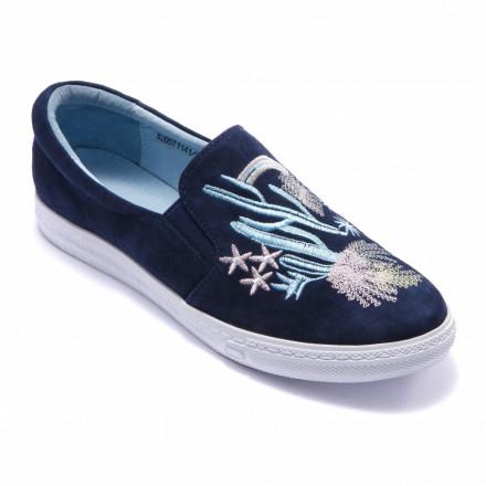 Туфли женские Welfare 520571141/D.BLUE/36