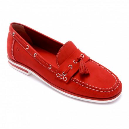 Мокасины женские Caprice 9/9-24205/20 544 RED NUBUC