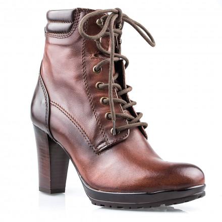 Ботинки женские YKX 812201 BRUNETTE /T.MORO