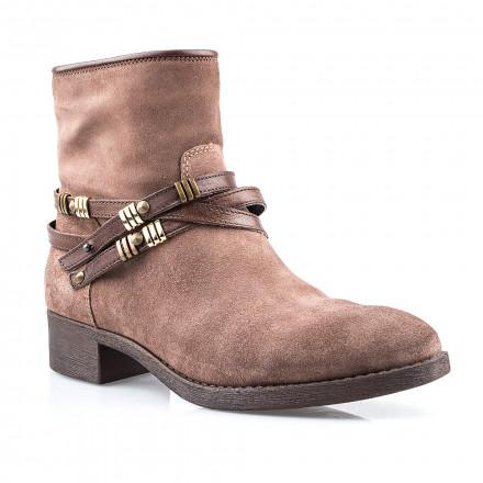 Ботинки женские YKX 593208 VOLCANIC/MOGANO