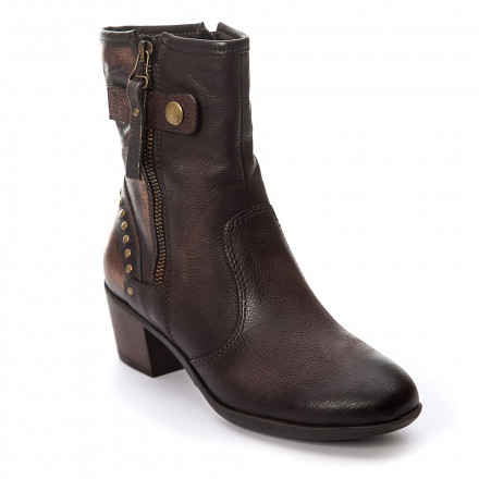 Ботинки женские Mjus 140238 SMOG/PELTRO
