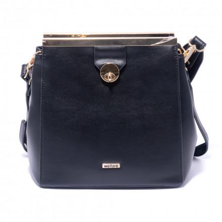 Жіноча сумка Welfare D8415 BLK