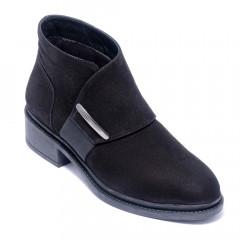 Ботинки женские Welfare 0010-106K 351 BLACK NUBUCK