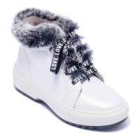 Ботинки женские Welfare 0445-201902KR 36 WHITE PEARL FLOTER