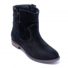 Ботинки женские Welfare 0448-90 S1 BLACK SUEDE