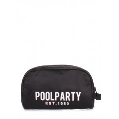 Косметичка POOLPARTY travelcase-black
