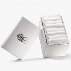 Носки Griffon Low bamboo white box