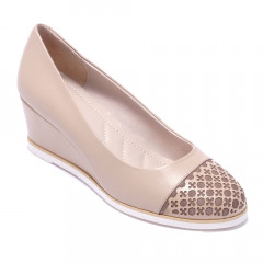 Туфлi жiночi Welfare 272280111/BEIGE/40
