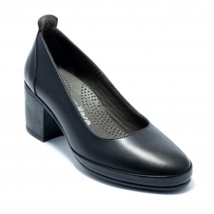 Туфли женские Welfare 0052-5041 20 BLACK LEATHER