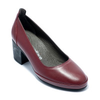 Туфлі жіночі Welfare 0052-5041 70 BURGUNDY LEATHER