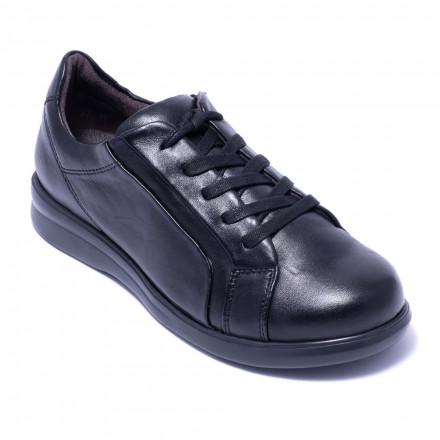 Туфли женские Caprice 9-9-23711-25 040 BLACK SOFT NAP