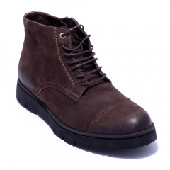 Ботинки мужские Welfare 211714 BROWN NUBUCK