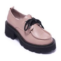 Туфли женские Welfare 0010-4011D 398 DARK MINK LEATHER