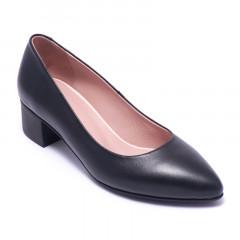 Туфли женские Welfare 0431-2278D 100 BLACK LEATHER