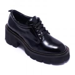 Туфли женские Welfare 0443-2339R 2103 BLACK PATENT