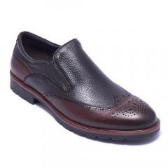 Туфлі чоловічі Welfare 424061111/D.BRN/43