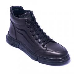 Ботинки мужские Welfare 1K0465-7736 BLACK MESSI