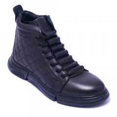 Ботинки мужские Welfare 1K0467-7736 BLACK MESSI