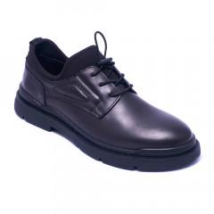 Туфлі чоловічі Welfare 1K0685-8222 BLACK MESSI