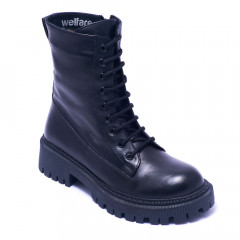 Ботинки женские Welfare 22650 Black LTHR