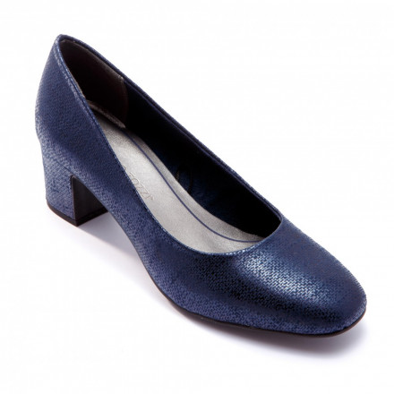Туфли женские Marco Tozzi 2/2-22426/30 824 NAVY METALLIC