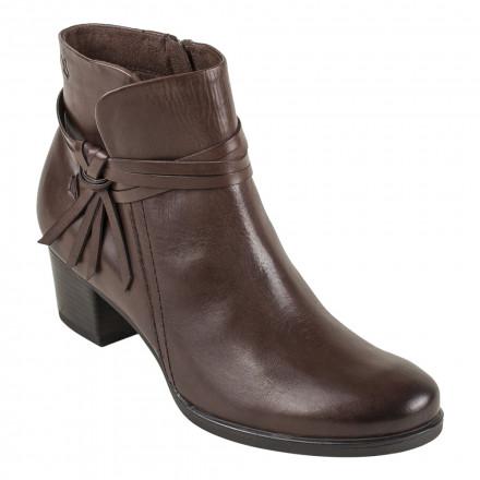 Ботинки женские Caprice 9/9-25359/29 337 DK BROWN NAPPA