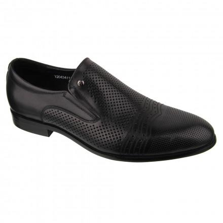 Туфлі чоловічі Welfare 120434111/BLK/34