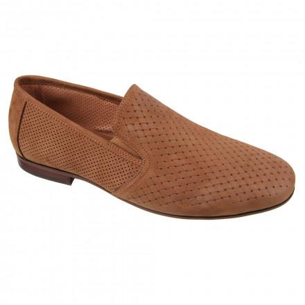 Туфлі чоловічі Welfare 120494121/BRN/34
