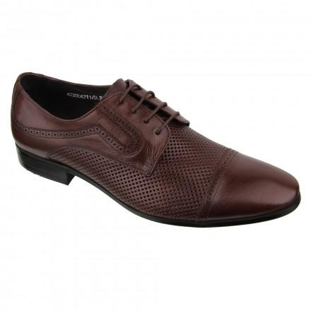 Туфлі чоловічі Welfare 422004211/D.BRN/34