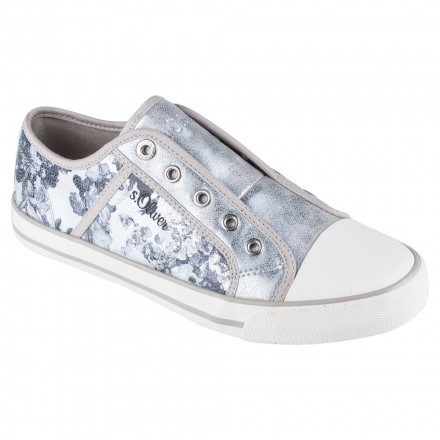Туфлі жіночі s.Oliver 5 5-24626 28 932 SILVER BLACK  купити в ... e1bc7d85e0e57