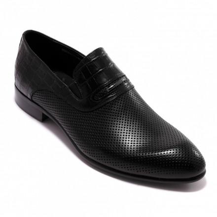 Туфлі чоловічі Welfare 550304111/BLK/36