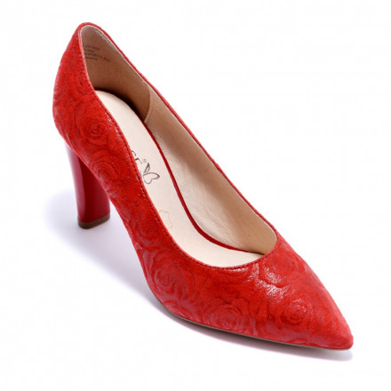 Туфли женские Caprice 9/9-22402/20 552 RED ROSES