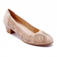 Туфли женские Caprice 9/9-22500/20 404 BEIGE SUEDE
