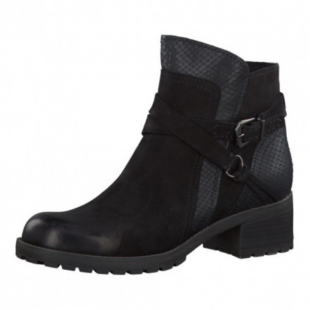 Ботинки женские Marco Tozzi 2/2-25870/29 096 BLACK ANT.COMB