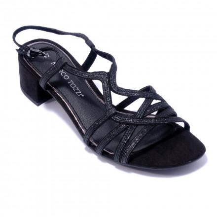 Босоножки женские Marco Tozzi 2/2-28201/22 098 BLACK COMB