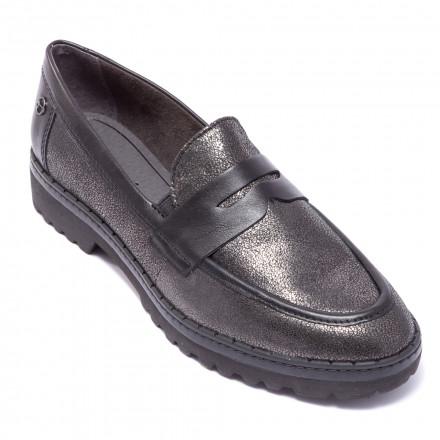 Туфли женские Tamaris 1/1-24703/21 919 PEWTER/BLACK