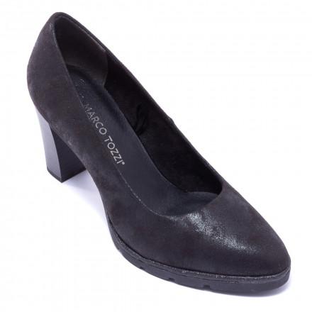 Туфли женские Marco Tozzi 2/2-22456/21 033 BLACK METALLIC
