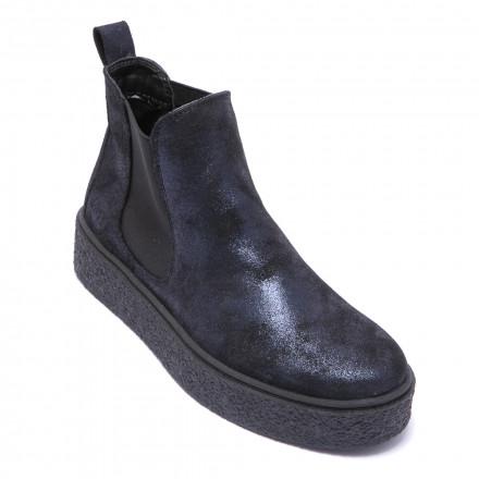Ботинки женские Marco Tozzi 2/2-25833/21 824 NAVY METALLIC