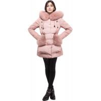 Пальто женское Merino 18236 Pink