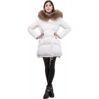 Пальто женское Miss Fofo 18190 White