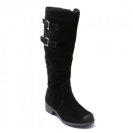 Сапоги женские Caprice 9/9-26600/21 004 BLACK SUEDE