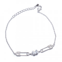 Браслет жіночий Welfare JB03985B silver