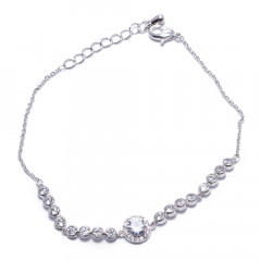 Браслет женский Welfare JB03656B silver