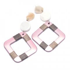 Сережки жіночі Welfare HC12709 pink