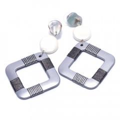 Сережки жіночі Welfare HC12709 silver