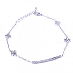 Браслет жіночий Welfare JB03763B silver