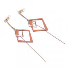 Сережки жіночі Welfare DF3288011 brown