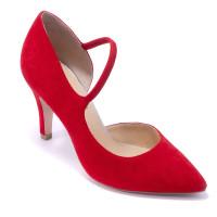 Туфли женские Caprice 9/9-24402/22 524 RED SUEDE